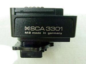 Metz SCA 3301 SCA3301 SCA-3301 M2 TTL/AF Flash Hot Shoe Adapter for Minolta Sony
