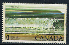 Canada #726(2) 1979 $1.00 FUNDY NATIONAL PARK GT2 TAGGED Used