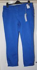 BNWT F&F Blue Ankle Grazer Jeans Size 16 Long