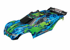 Body, Rustler 4X4 VXL, Green (assembled w/body mounts)