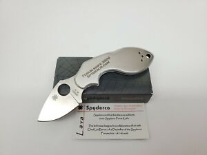 SPYDERCO LAVA 2006 SPYDERCO FORUM KNIFE C110P ~ NEW ~ 1 OF 140