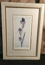 Vintage Floral Picture Shabby Chic Lupin Framed Print For Laura Ashley Large