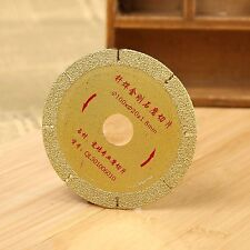 "Diamond Coated Cutting Disc Saw Blade Golden 4"" inch 100mm Wheel Grit 46 Coarse"