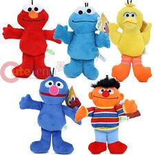 Sesame Street Bedtime 5pc Plush Doll Elmo Cookie Monster Big Bird Grover Ernie