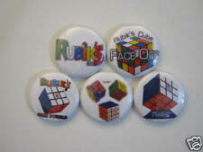 RUBIC 'S  CUBE # 1 ALL NEW 5 PINS PINBACKS BUTTONS  #51