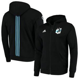 Adidas MLS Minnesota United FC Travel Jacket Black/Blue DP5222