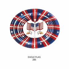12 inch Metal-3-Dimensional BEAUTIFUL FLAGS WIND SPINNER-FREE SHIPPING