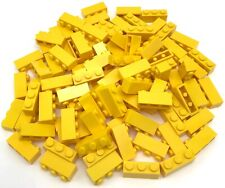 Lego 100 New Yellow Bricks 1 x 3 Dot Building Blocks Town Home City Pieces
