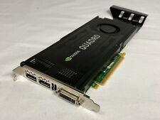 Dell D5R4G Nvidia Quadro K4000 3GB GDDR 5 GPU scheda grafica