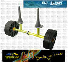 Sea to Summit Sit on Top Kayak Trolley - Solid Hard Wheels, Cart Dolley Scupper