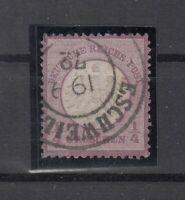 DA7821/ GERMANY REICH – MI # 1 USED – CV 170 $