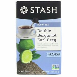Stash Double Bergamot Earl Grey Tea ***made with real bergamot oil***