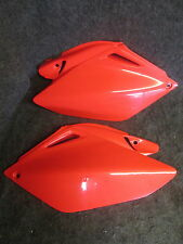 Honda CRF250 2006-2009 New X-Fun red side panels number plate set CP001