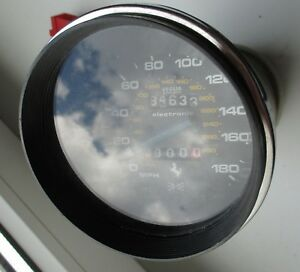 Ferrari 308 GT4 DINO OEM SPEEDOMETER VEGLIA Tacho Geschwindigkeitsanzeige