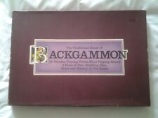 The Traditional game of Backgammon