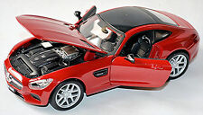 Mercedes-AMG GT C190 Coupe 2014-16 rot red 1:24 Maisto