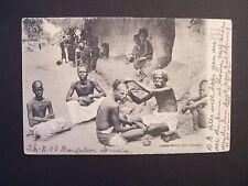 CPA  - Inde  -  Madras  - Village Barber  ( Le Barbier du Village ) - 1905