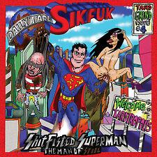 "SIKFUK ""Shitfisted Superman... The Man of Stool"" death metal grind CD"