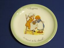 Holly Hobbie Plate Happiness is meant to be shared