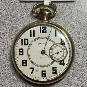 Illinois 17J Model 6 Pocket Watch