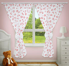 LUXURY DECORATIVE CURTAINS BABY CHILD BEDROOM NURSERY WINDOW PINCER CLIPS