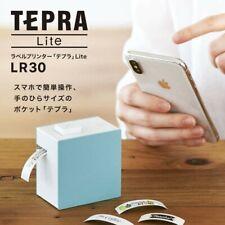 Kingjim Tepra Lite Label Printer Lr30 Blue For Ios Android Smartphone Japan New