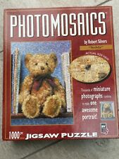 Photomosaics 'Teddy' Bear 1000 Piece Jigsaw Puzzle By Robert Silvers