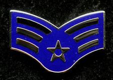 SENIOR AIRMAN RANK HAT LAPEL PIN UP BADGE VETERAN E4 US AIR FORCE INSIGNIA
