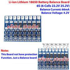 6S 22.2V 25.2V Li-ion Lithium 18650 3.7V Battery Charger Balance Circuit Board