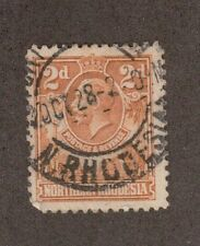 Northern Rhodesia 4 - King George V. 2d Used. #02 Nrhod4