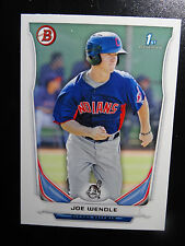 2014 Bowman #BP110 Joe Wendle Cleveland Indians Baseball Rookie Card