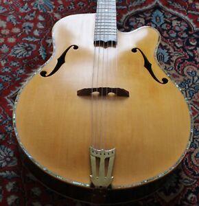 Thornton Caldwell archtop jazz guitar handmade in Scotland one-off design +case