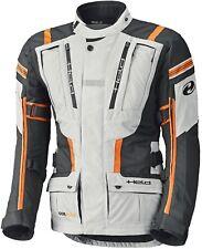 Held Hakuna II hombre chaqueta de Moto Impermeable Touring Negro Gris Naranja