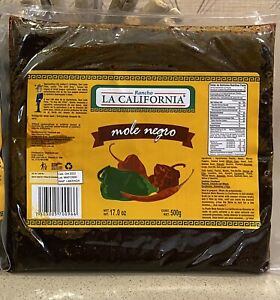 Artisanal Natural Mole Negro (17.0 Oz) Made in Mexico