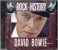 David Bowie ‎DVD Rock History Brand New Sealed