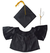 """Graduation Teddy Bear Clothes Fits Most  14""""-18"""" Build-A-Bear and More"""