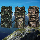 Outdoor Military Hiking Mountaineering Camping Hunting Backpack Tactical Bag LOT