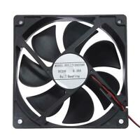 HDS1212025BH DC24V Cooler Fan 117x117x24mm 7 Blades Computer PC Cooling Fan L&6