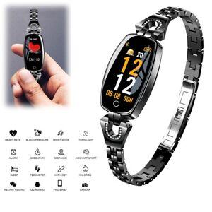 Women Chic Smart Watch Fitness Tracker Bracelet for Samsung S20 Ultra S10 S9 S8+