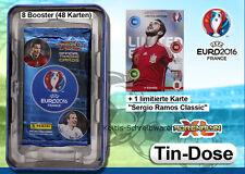 Panini Adrenalyn XL Euro 2016 France Tin Dose + Limited Sergio Ramos
