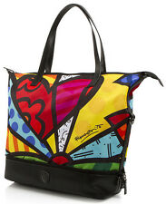 BRITTO by Heys A New Day Packaway Tote Handbag Purse Carry On Luggage