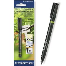2 x Staedtler Waterproof Garden Marker Pen - Permanent Outdoor Marker