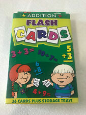 Addition Jumbo Flash Cards from Little Folks