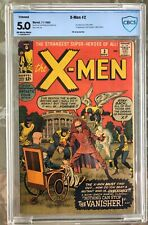 X-Men #2 (1963) CBCS 5.0 -- 2nd X-Men; 1st Vanisher app. --restored; like CGC