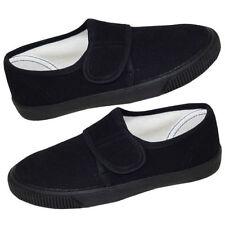 Plimsolls Hook & Loop Fasteners Unbranded Shoes for Girls