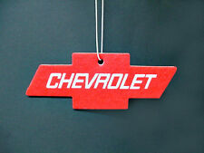 Chevy Red Air Cleaner Freshener Interior Mirror Dashboard Emblem Visor NOS SS
