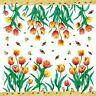 Toalla de Papel de Arroz Tulipanes de Stamperia DFT051
