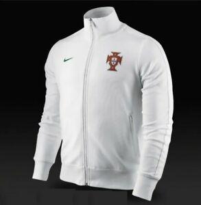 MINT MEN'S NIKE N98 PORTUGAL NATIONAL EURO 2012 JACKET SOCCER FOOTBALL SIZE L