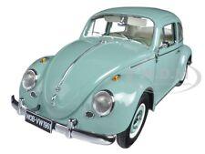 1961 VOLKSWAGEN BEETLE SALOON PASTEL BLUE 1/12 DIECAST MODEL CAR BY SUNSTAR 5209
