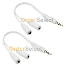 2 NEW Earbud Earphone Headset Headphone Splitter for Apple iPad Mini 1 2 3 4 HOT